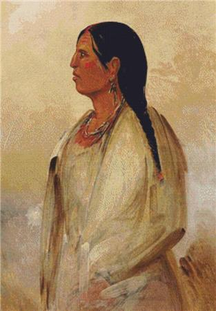 click here to view larger image of Choctaw Woman (chart)
