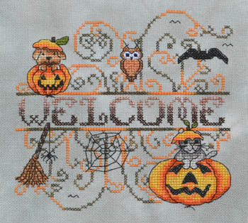 Pumpkin Patch Critters - click here for more details about chart