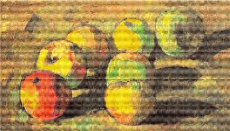 click here to view larger image of Still Life with Seven Apples (chart)
