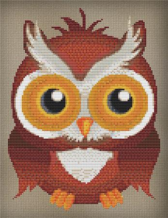 click here to view larger image of Oliver Owl (chart)