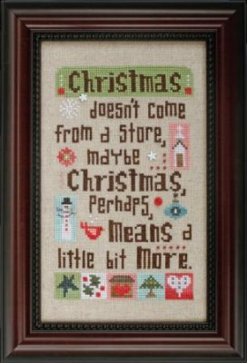 Christmas Means More - click here for more details about chart