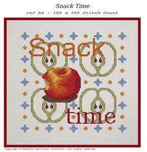 click here to view larger image of Snack Time (chart)