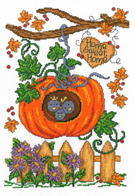 click here to view larger image of Autumn Birdhouse (chart)