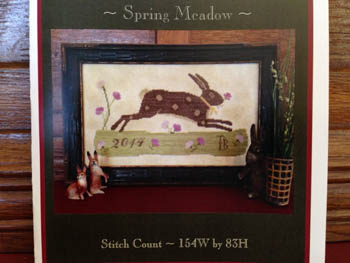 click here to view larger image of Spring Meadow Sampler (chart)