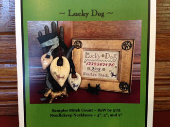 click here to view larger image of Lucky Dog Sampler and Needlekeep Necklaces (chart)