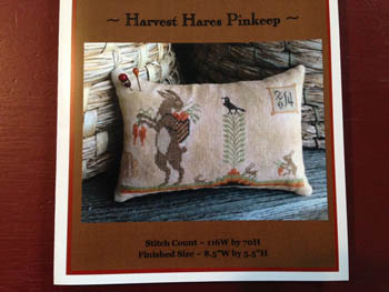 click here to view larger image of Harvest Hares Pinkeep (chart)