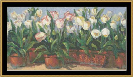 click here to view larger image of Tulips (charm)