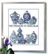 click here to view larger image of China Blue (counted cross stitch kit)