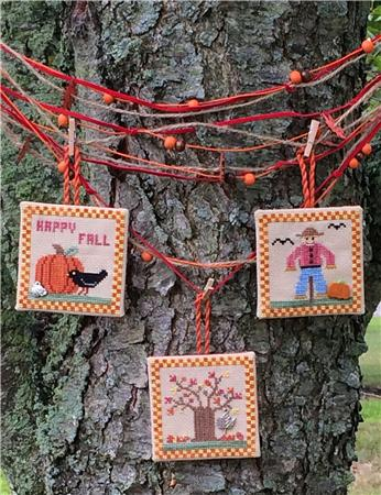 click here to view larger image of Fall Ornaments (chart)
