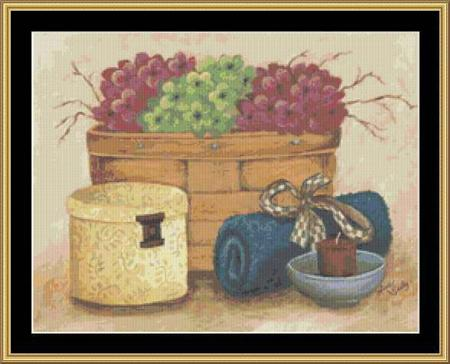 click here to view larger image of Bathroom Vignette I (chart)