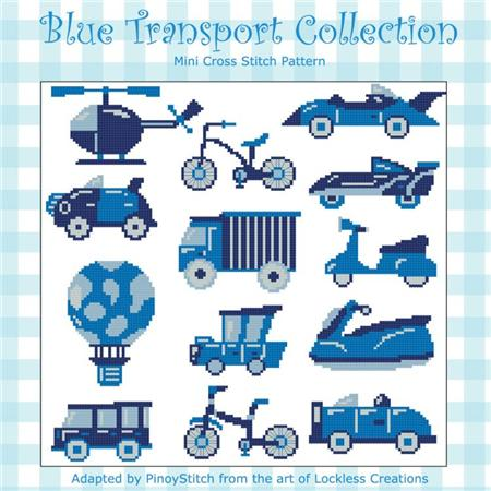 click here to view larger image of Blue Transport Collection (chart)
