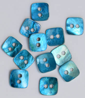 click here to view larger image of Seabreeze Mini Square Mother of Pearl Buttons (buttons)