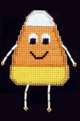 click here to view larger image of Candy Corn Buddy Kit (counted cross stitch kit)