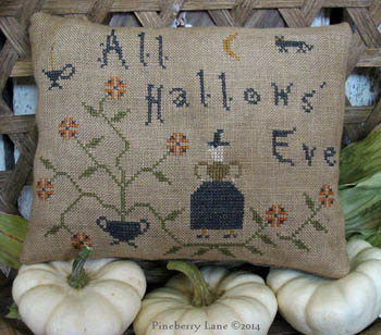 click here to view larger image of All Hallow's Eve Pinkeep Pillow (chart)