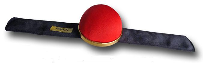 click here to view larger image of Bohin Pin Cushion Red Slap Bracelet (accessory)