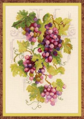 click here to view larger image of Grapevine (counted cross stitch kit)