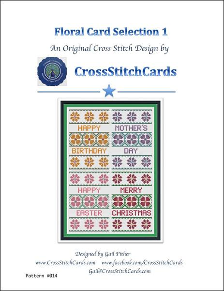 click here to view larger image of Floral Card Collection 1 (chart)