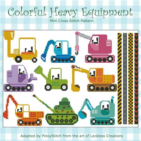 click here to view larger image of Colorful Heavy Equipment (chart)