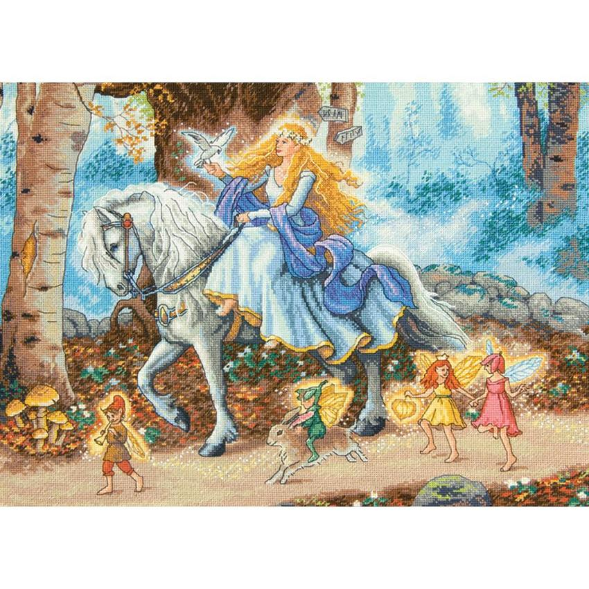 click here to view larger image of Fairytale - Dimensions Gold Collection (counted cross stitch kit)