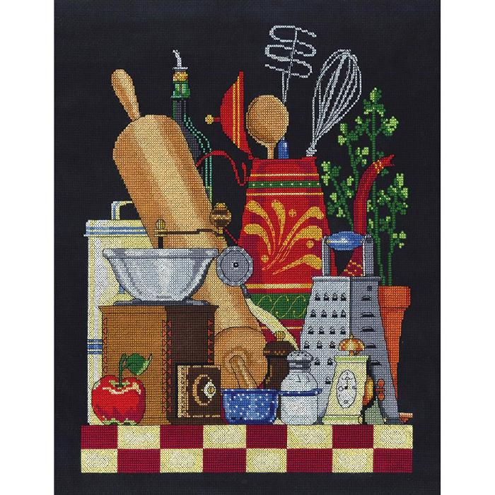 click here to view larger image of Kitchen Still Life (counted cross stitch kit)