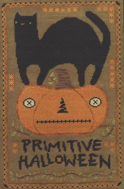 click here to view larger image of Primitive Halloween (chart)