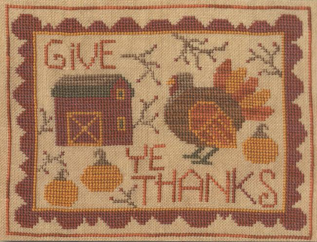 click here to view larger image of Give Ye Thanks (chart)