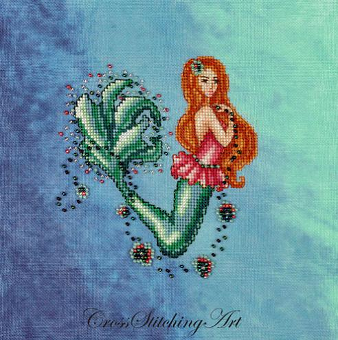 click here to view larger image of Aurelia - The Little Mermaid (chart)