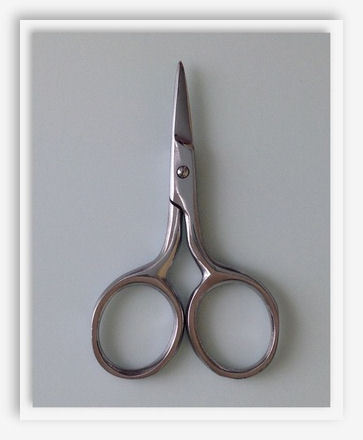 click here to view larger image of Petite Silver Scissors (accessory)