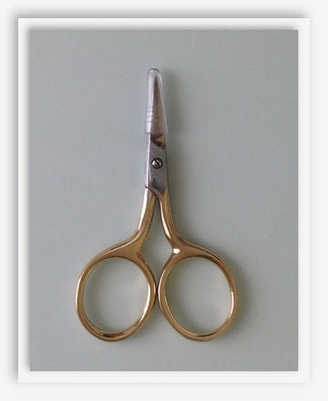 click here to view larger image of Petite Gold Scissors (accessory)