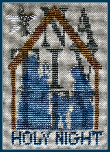 click here to view larger image of Nativity - Shadow (chart with charms/buttons)