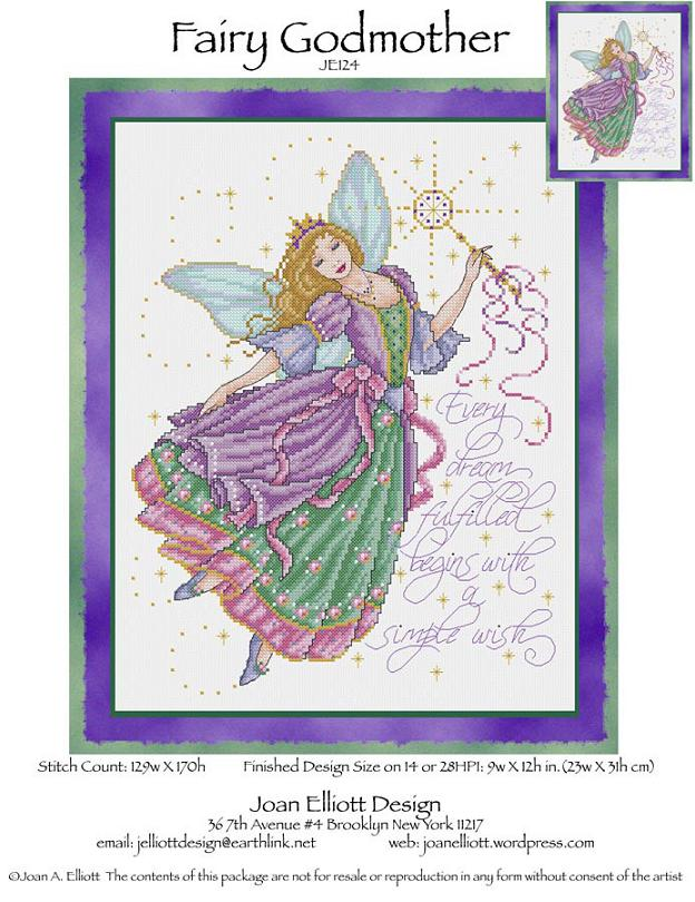 click here to view larger image of Fairy Godmother (chart)