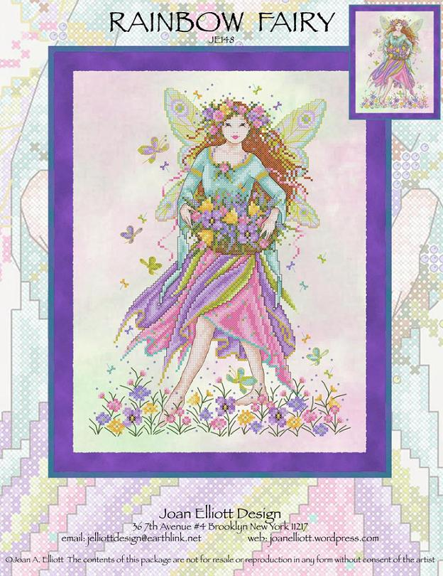 click here to view larger image of Rainbow Fairy (chart)
