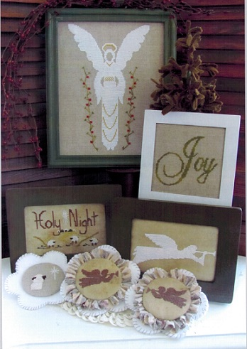 click here to view larger image of Angels of the Holy Night (chart)