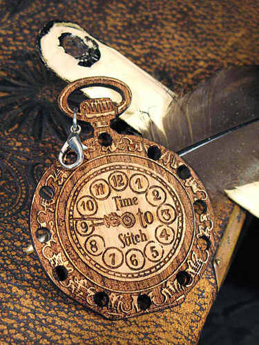 click here to view larger image of Pocket Watch Thread Organizer Fob (accessory)