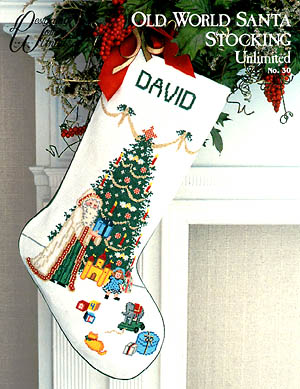 click here to view larger image of Old World Santa Stocking (chart)