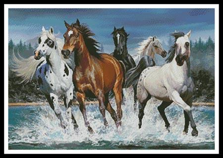 click here to view larger image of Wild Horses (chart)