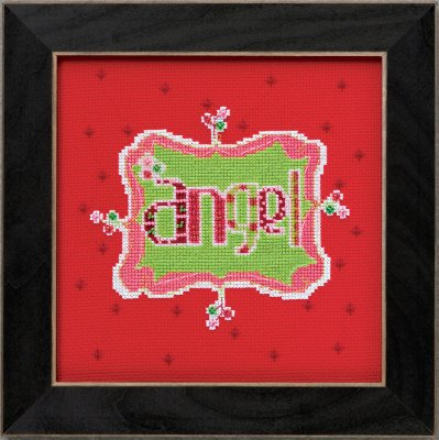 click here to view larger image of Angel - Amylee Weeks (counted cross stitch kit)