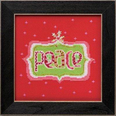 click here to view larger image of Peace - Amylee Weeks (counted cross stitch kit)