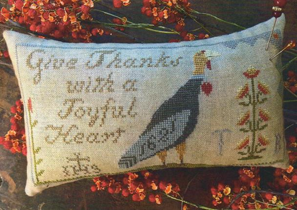 click here to view larger image of Hannahs Thankful Heart (chart)