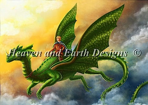 click here to view larger image of Dragon and Prince (chart)