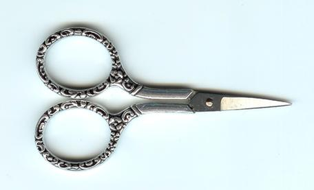 click here to view larger image of 4in Heirloom Embellished Scissors (accessory)