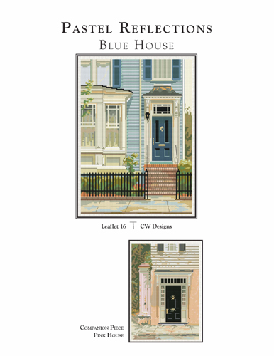 click here to view larger image of Pastel Reflections - Blue House (chart)