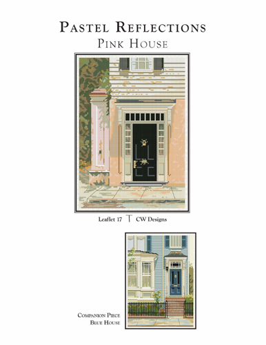 click here to view larger image of Pastel Reflections - Pink House (chart)