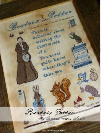 click here to view larger image of Beatrix Potter (chart)