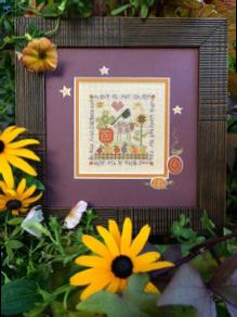 click here to view larger image of Autumn Sheep (counted cross stitch kit)