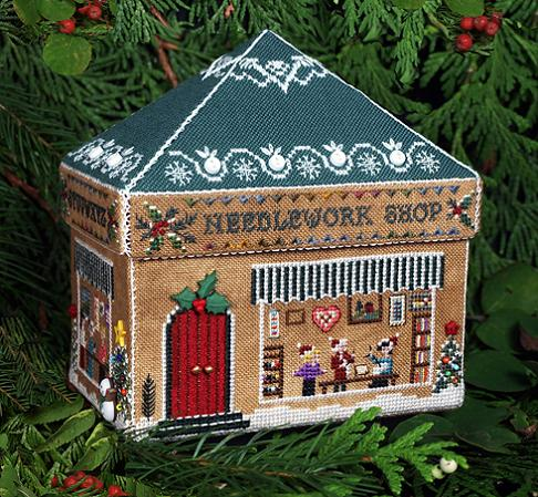click here to view larger image of Gingerbread Needlework Shop (chart)