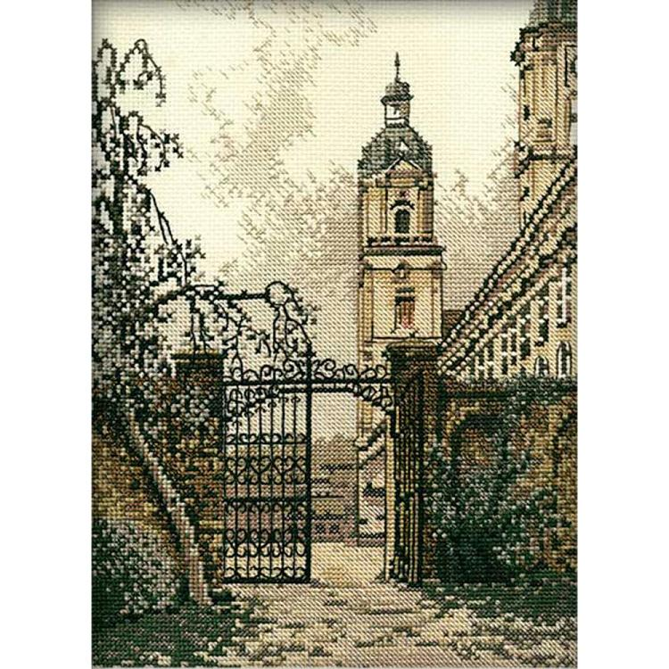 click here to view larger image of Gate In the Town, The (counted cross stitch kit)