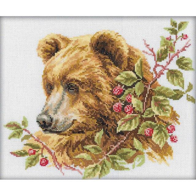 click here to view larger image of Bear (counted cross stitch kit)