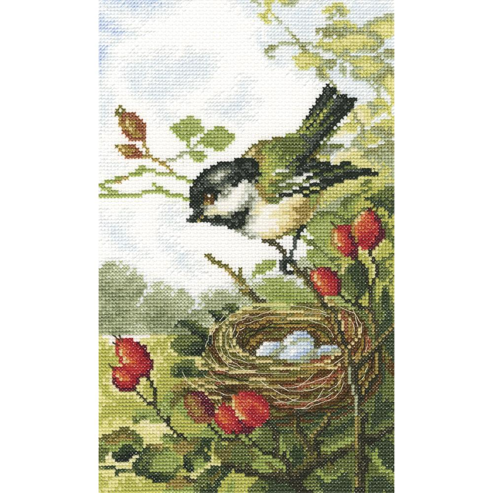 click here to view larger image of On a Briar Branch (counted cross stitch kit)