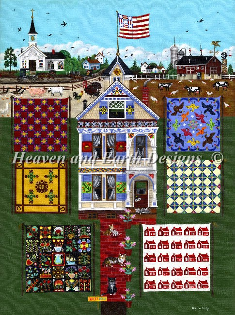 click here to view larger image of House of Quilts (chart)